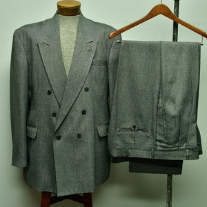 Haggar Double breasted suit